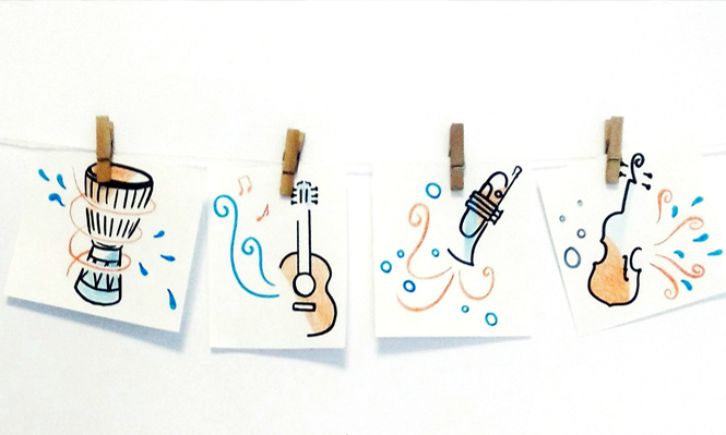 Musicoterapia en el tratamiento oncológico. Imagen obtenida de: https://owlpsicologia.com/wp-content/uploads/2018/05/article-musicoterapia-2.png